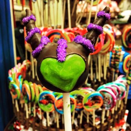 Disney Snack Spotlight ~ Maleficent Cake Pop, Hollywood Studios 1