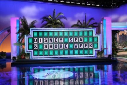 Disney Sea & Shore Week on 'Wheel of Fortune'- Watch and Win! 1