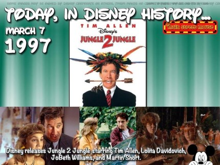 Today In Disney History ~ March 7th 1