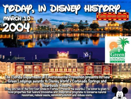 Today In Disney History ~ March 10th 3