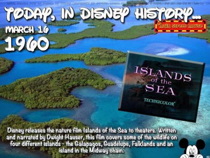 Today In Disney History ~ March 16th 1