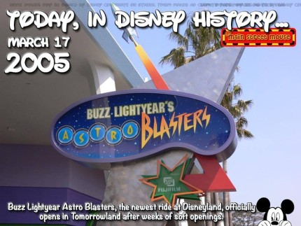 Today In Disney History ~ March 17th 2