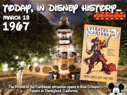Today In Disney History ~ March 18th 1