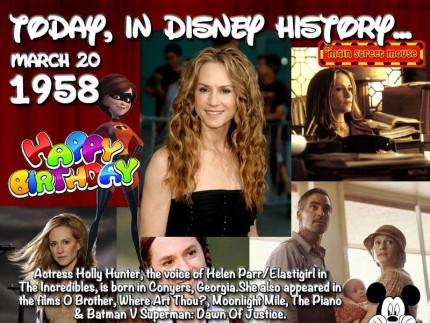 Today In Disney History ~ March 20th 1