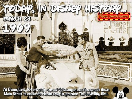 Today In Disney History ~ March 23rd 1