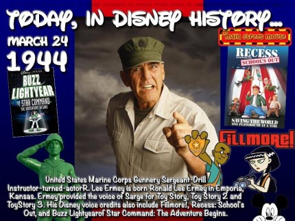 Today In Disney History ~ March 24th 1