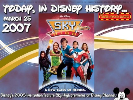 Today In Disney History ~ March 25th 4