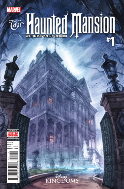 The Haunted Mansion #1 Marvel Comic 15