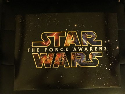 Star Wars The Force Awakens Lithographs 1