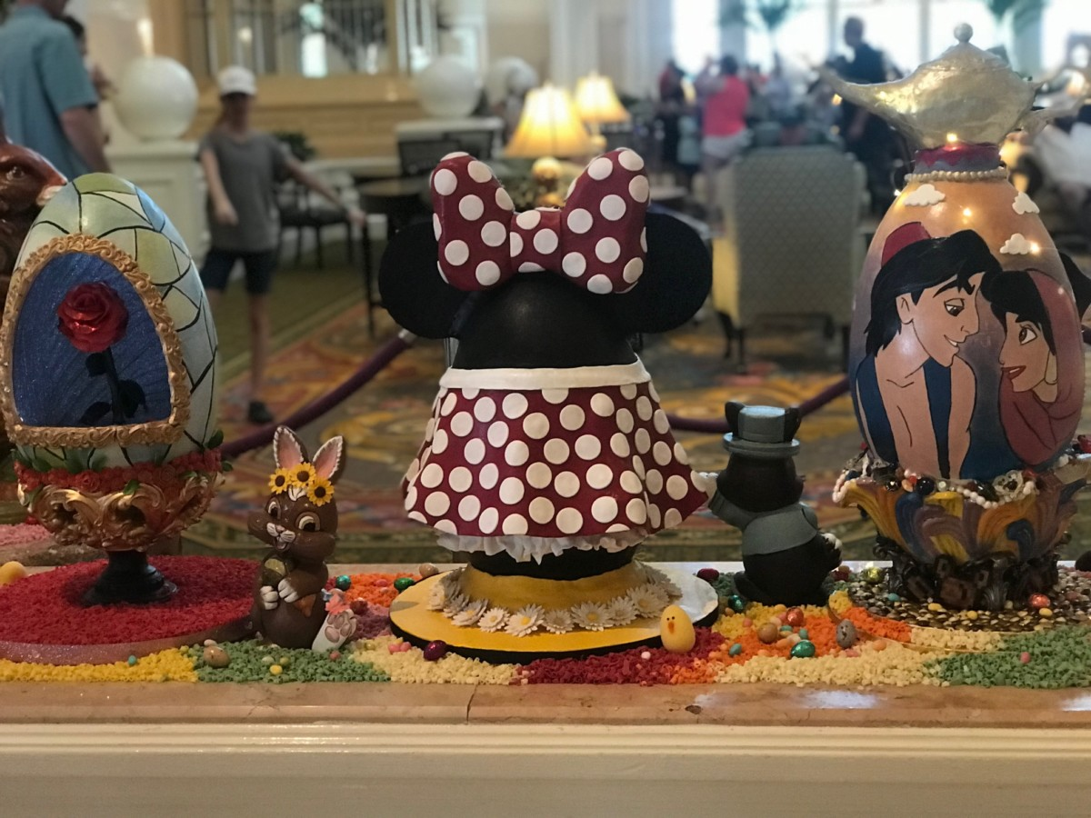 Chocolate Easter Egg Display at The Grand Floridian, Walt Disney World 3