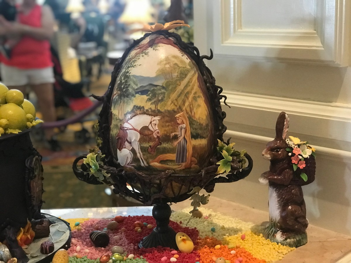 Chocolate Easter Egg Display at The Grand Floridian, Walt Disney World 4