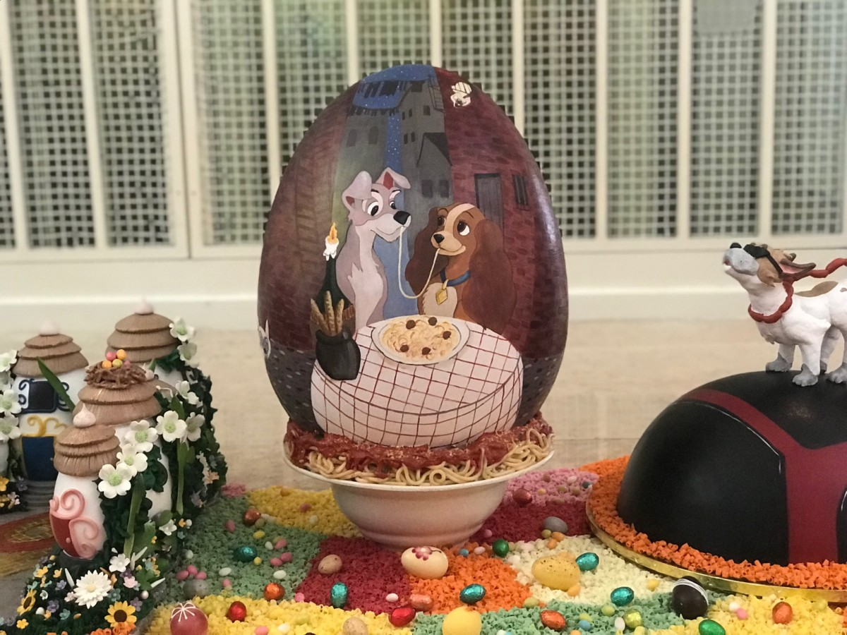 Chocolate Easter Egg Display at The Grand Floridian, Walt Disney World 5