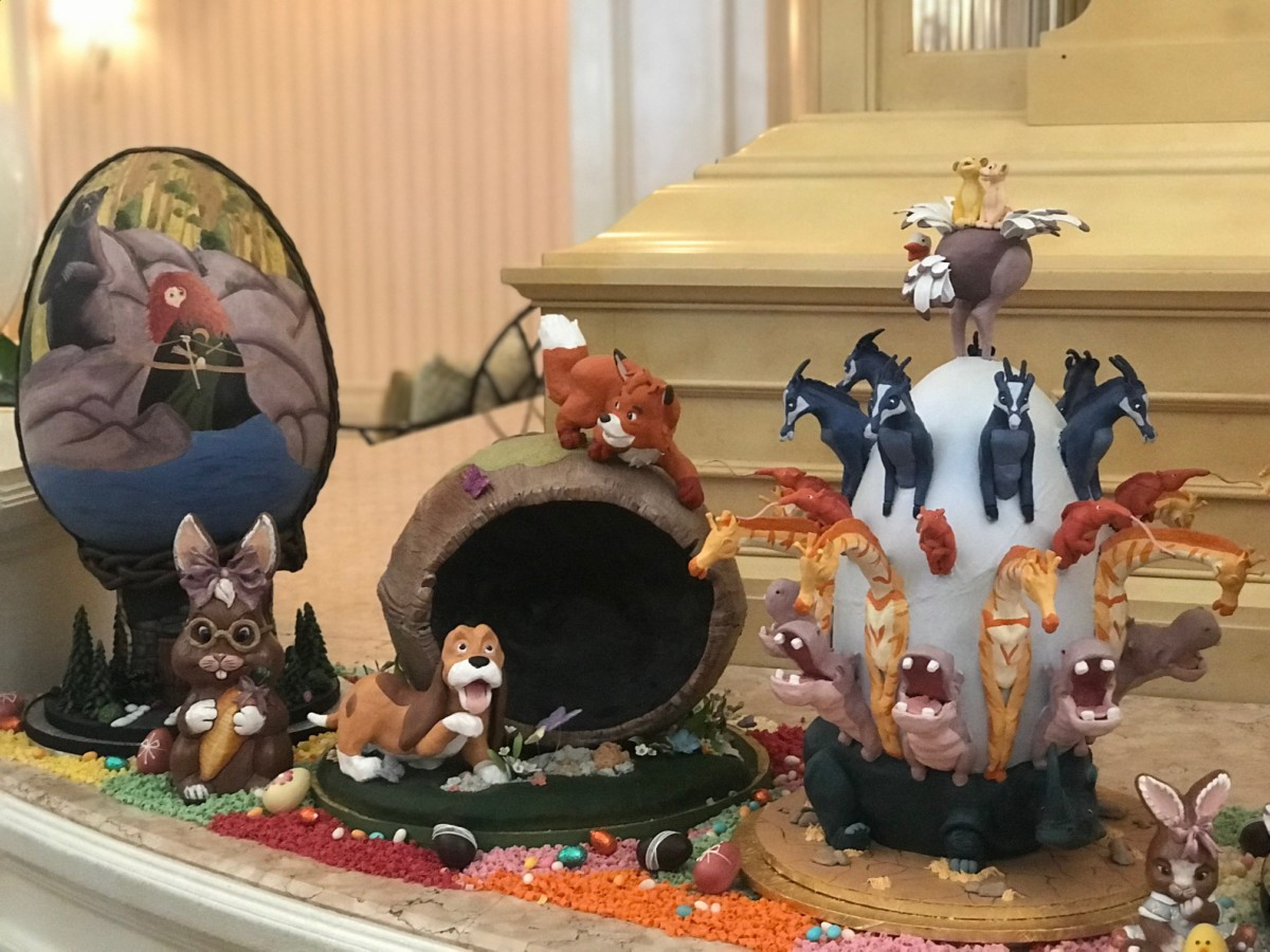 Chocolate Easter Egg Display at The Grand Floridian, Walt Disney World 7
