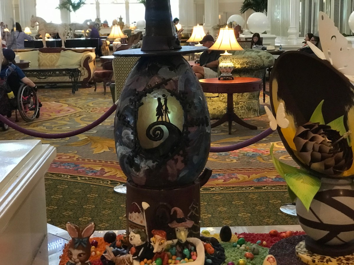 Chocolate Easter Egg Display at The Grand Floridian, Walt Disney World 12