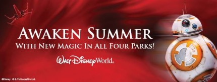 Awaken Summer! Save Up To 30% This Summer at Walt Disney World! Plus Get a Special Edition Magic Band! 3