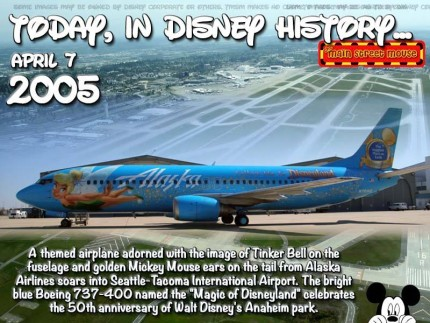 Today In Disney History ~ April 7th 3