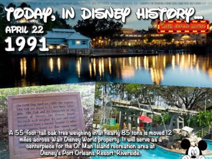 Today In Disney History ~ April 22nd 3