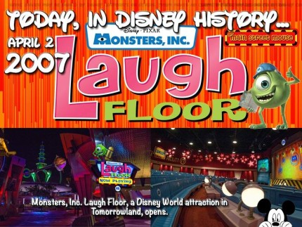 Today In Disney History ~ April 2nd 2