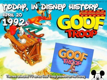 Today In Disney History ~ April 20th 4