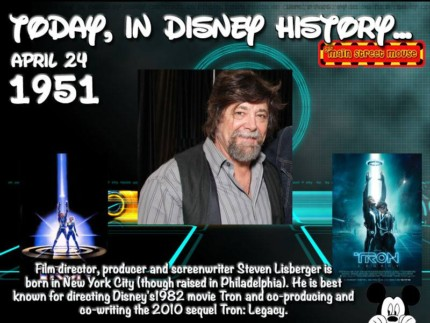 Today In Disney History ~ April 24th 2