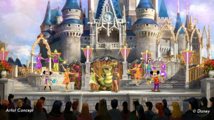 'Mickey's Royal Friendship Faire' Set to Open in June 2016 at Magic Kingdom Park #AwakenSummer 4