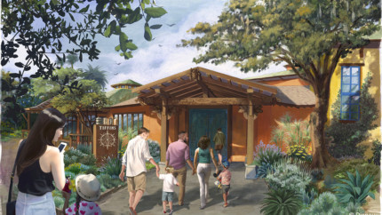 New Tiffins Restaurant at Disney's Animal Kingdom Opens Memorial Day Weekend #AwakenSummer 4