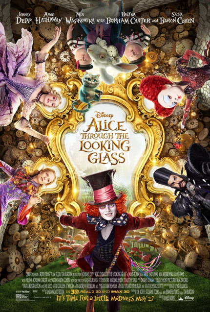 Preview Scenes from Disney's 'Alice Through the Looking Glass' for a Limited Time Starting Soon! 5