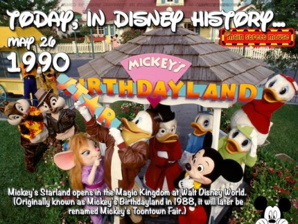 Today In Disney History ~ May 26th 3