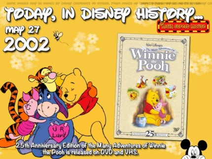 Today In Disney History ~ May 27th 10