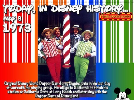 Today In Disney History ~ May 3rd 3