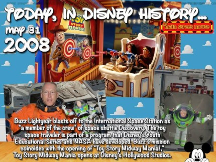 Today In Disney History ~ May 31st 1