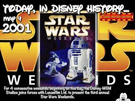 Today In Disney History ~ May 4th 3