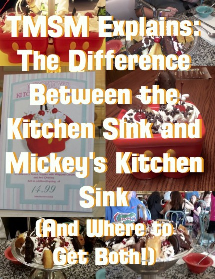 TMSM Explains: The Difference Between the Kitchen Sink and Mickey's Kitchen Sink (And Where to Get Both!) 13