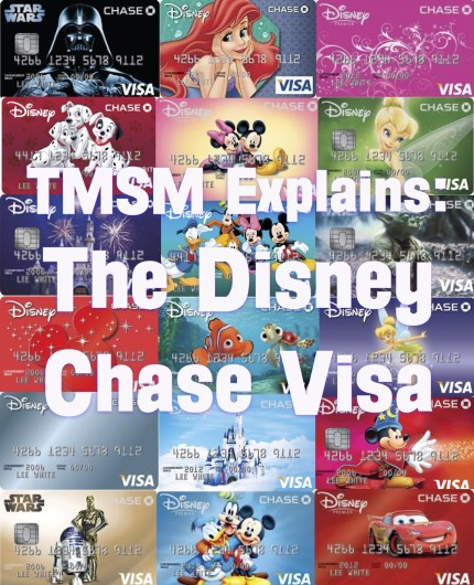 Chase Card Disney Designs