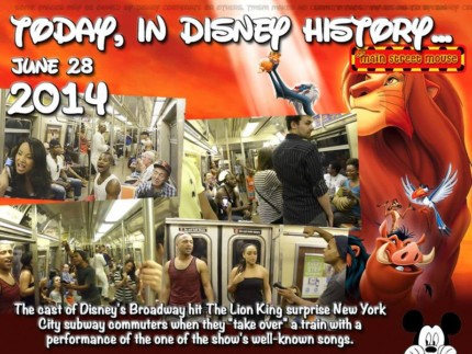 Today In Disney History ~ June 28th 3