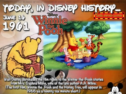 Today In Disney History ~ June 16th 3