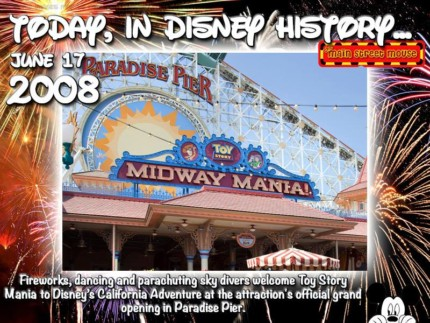 Today In Disney History ~ June 17th 1