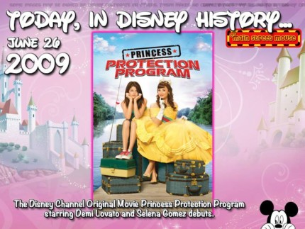Today In Disney History ~ June 26th 2
