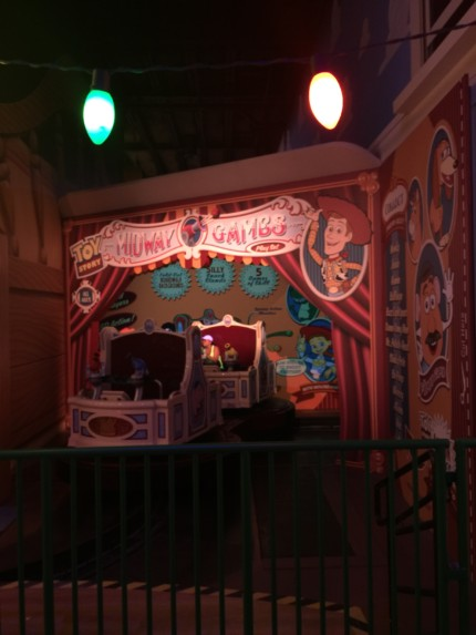Toy Story Midway Mania's Third Track Que 1