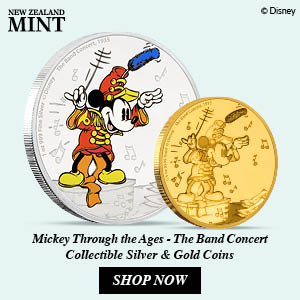 New Zealand Mint Releases Mickey Through the Ages – The Band Concert 6