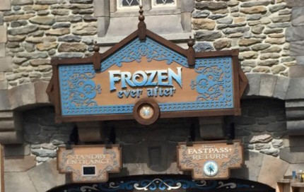 Opening Day of Frozen Ever After... My thoughts..... 5