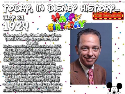 Today In Disney History ~ July 21st 4