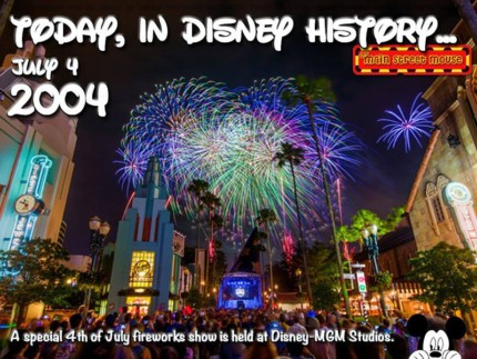 Today In Disney History ~ July 4th (with Video) 3