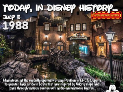 Today In Disney History ~ July 5th (With Video) 3