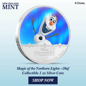 New Zealand Mint Debuts Olaf Coin 12