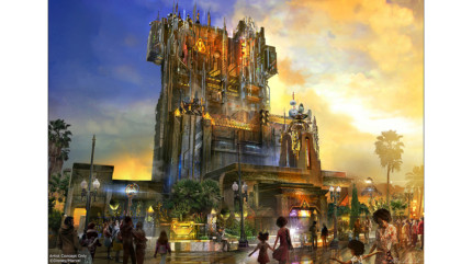 Disney California Adventure: Goodbye Tower, Hello Guardians of the Galaxy 19