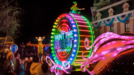 Paint the Night at Disneyland, Ending in September 10