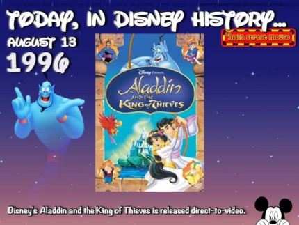Today In Disney History ~ August 13th 8