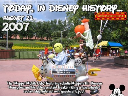 Today In Disney History ~ August 21st 4