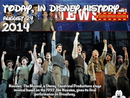 Today In Disney History ~ August 24th 13